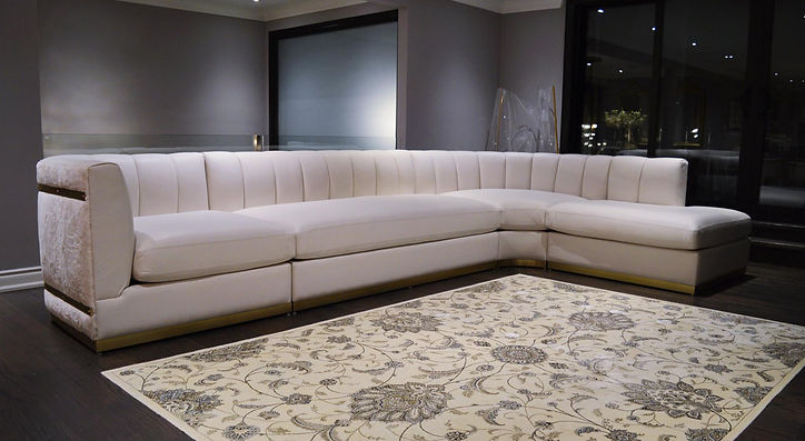 Custom Designer Sectional Sofa Maison Luxe Canada