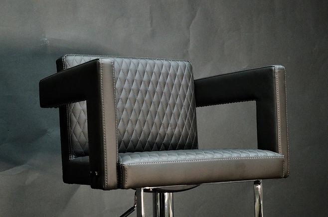 Designer Barstool Metal Maison Luxe Canada