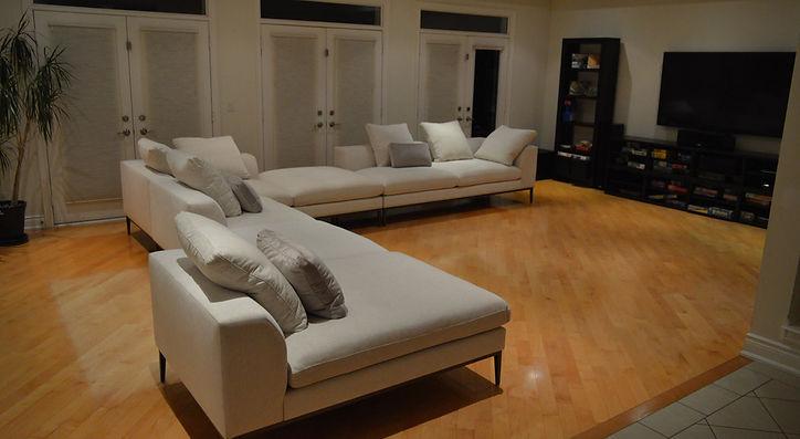 Custom Designer Sofa Sectional Maison Luxe Canada
