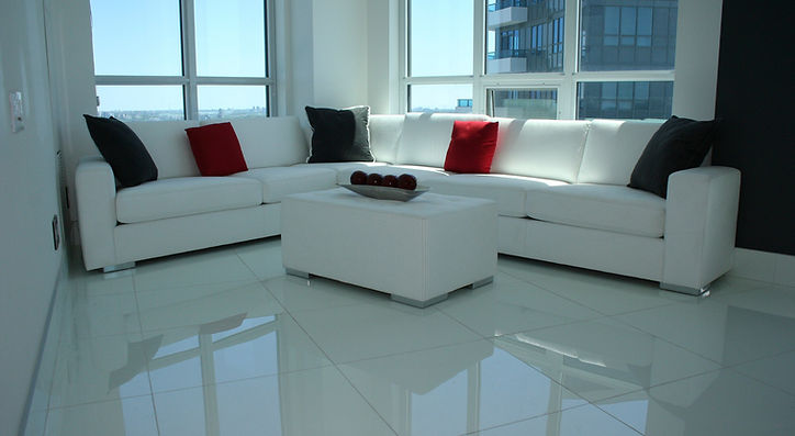 white leather sectional toronto custom maison luxe canada