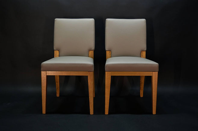 Designer Dining Leather Chair Maison Luxe Canada