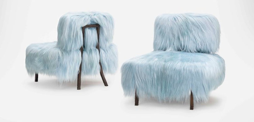 Designer Wood Chair Maison Luxe