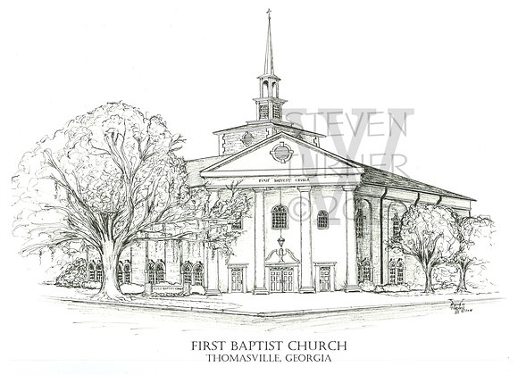 First Baptist Church - Thomasville, Georgia