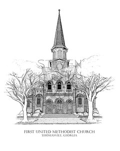 First United Methodist Church - Thomasville, Georgia