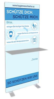 Aufsteller Corona Verhalten, Hygiene Aufsteller, Corona Info