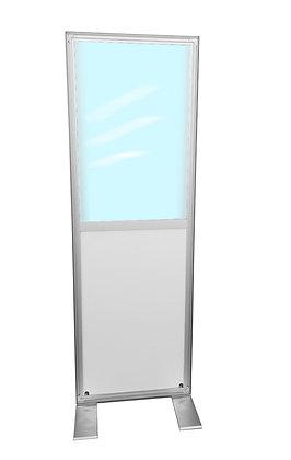 Ansteckungsbarriere 0,5x2m mit Weiternutzungsfunktion