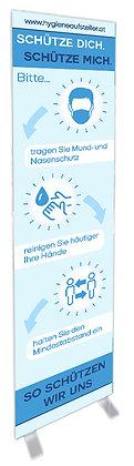 Hygiene Aufsteller, Corona Info, Aufsteller Corona Verhalten