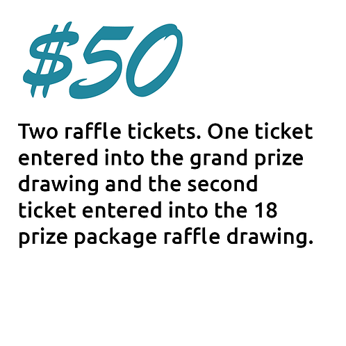 $50 Ticket Package