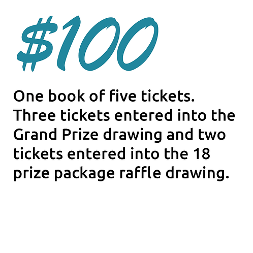 $100 Ticket Package