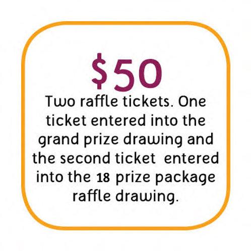 $50 Ticket Package