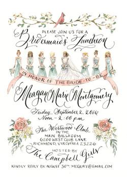 Meagan's Bridesmaid's Luncheon