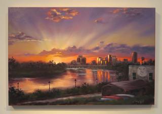 Rockett's Landing Sunset