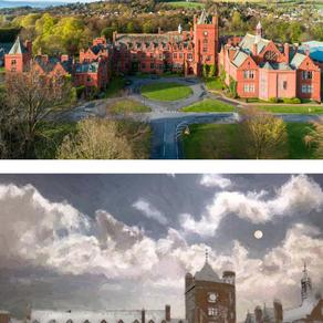 Campbell College, CS Lewis and Samuel Beckett