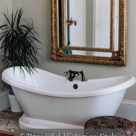5 Beautiful Victorian Style Free Standing Baths