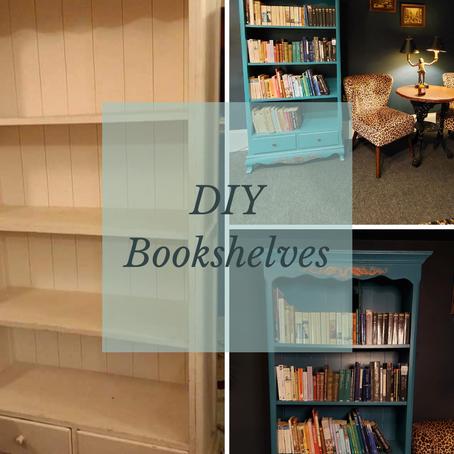 Upcycling a bookcase with Vardo Farrow & Ball