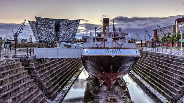 Titanic-Belfast-and-SS-Nomadic_155786328