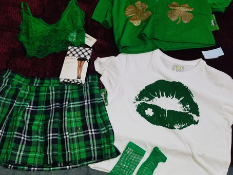 New outfits for Saint Patrick's Day!!!