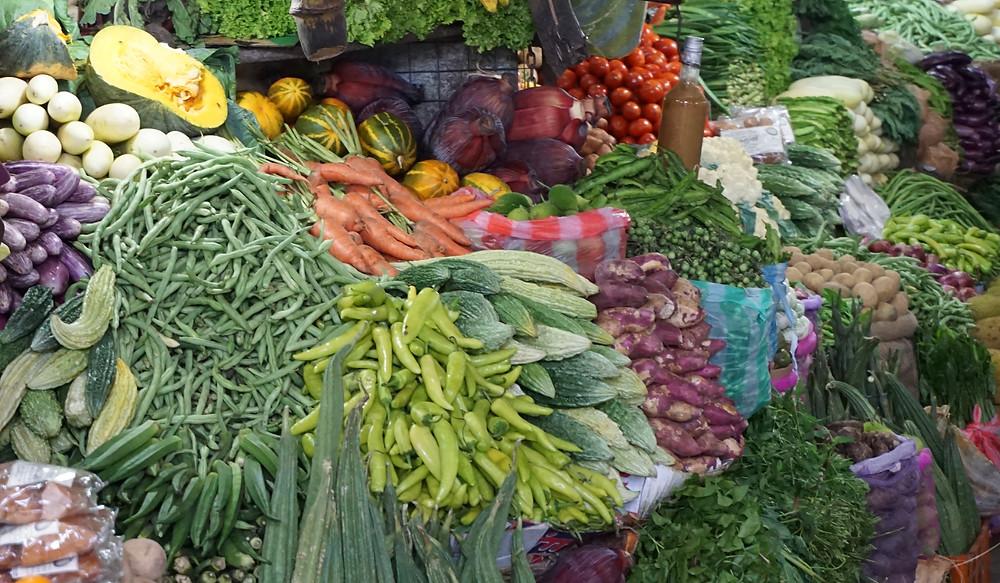 Gemüse sind der Hauptteil aller Mahlzeiten nach dem Fasten vondr. Dabrowska