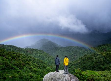 虹の出る島