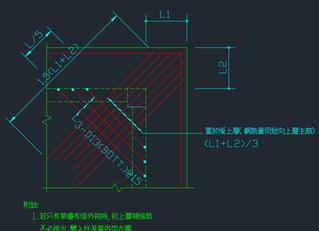 如何繪製板撿料圖(七)補強筋