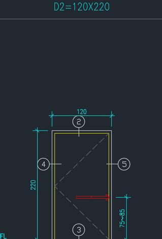 使用電腦軟體 繪製牆撿料圖(二)