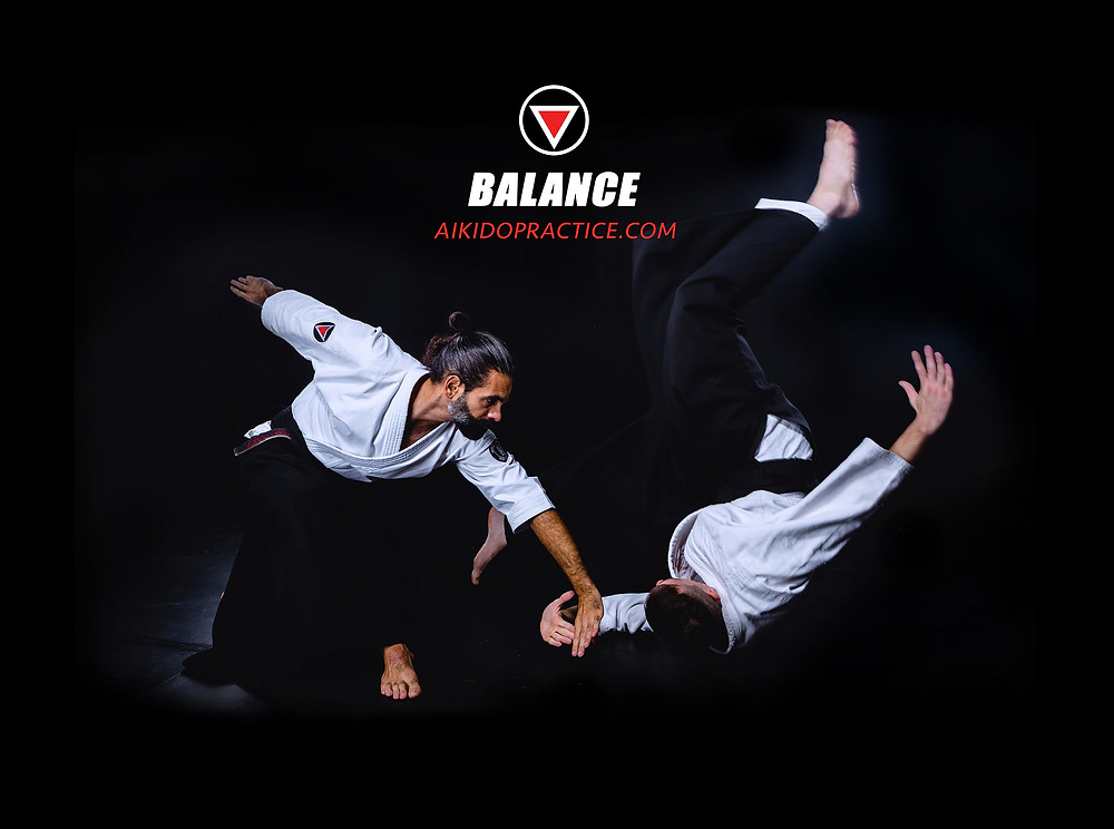 Aikido Training Balance Martial Arts