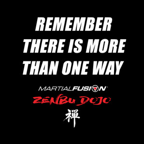 REMEMBER THERE IS MORE THAN ONE WAY