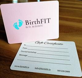 Birthfit Ireland Gift Certificate