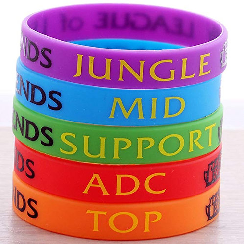 League of Legends: Silicone bands style 2