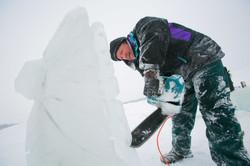 Ice Sculpting!