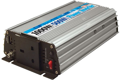 500W 12v Inverter Car travel Charger mains 240V mains power adapter 1000W peak