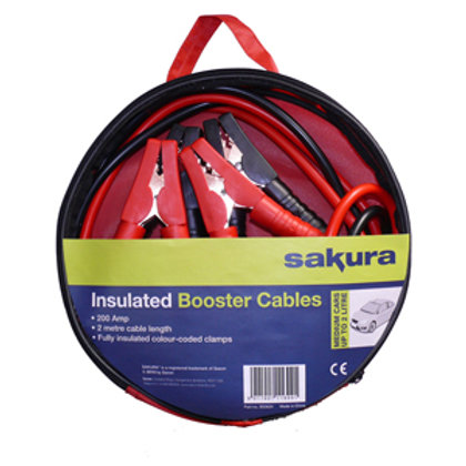 200 Amp booster cables / jump leads