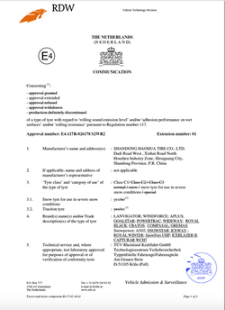 Royal_Winter_certifikát