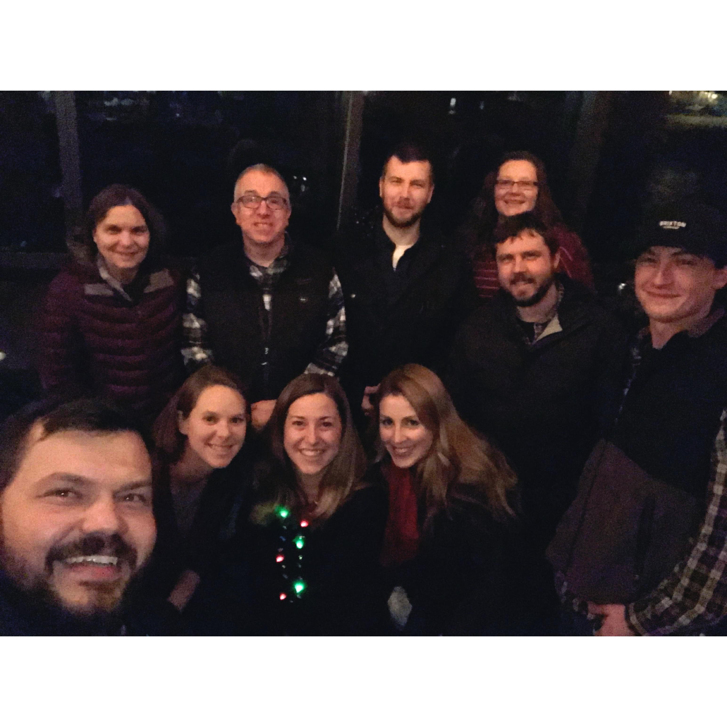 Company Christmas Dinner