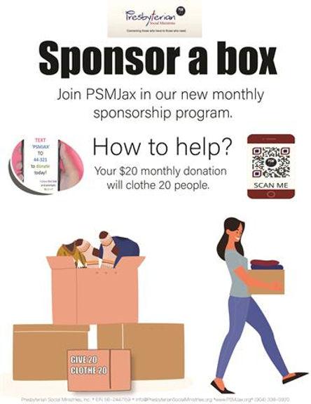 Sponsor a Box