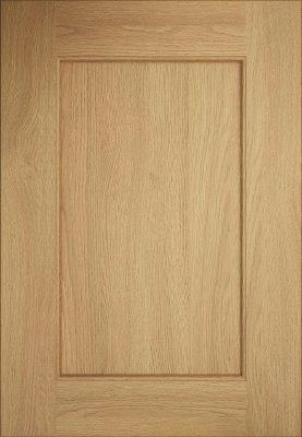 Oak shaker door by Kitchens in Portugal
