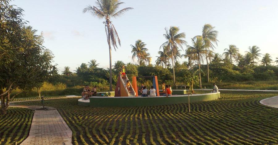 Playground para a criançada