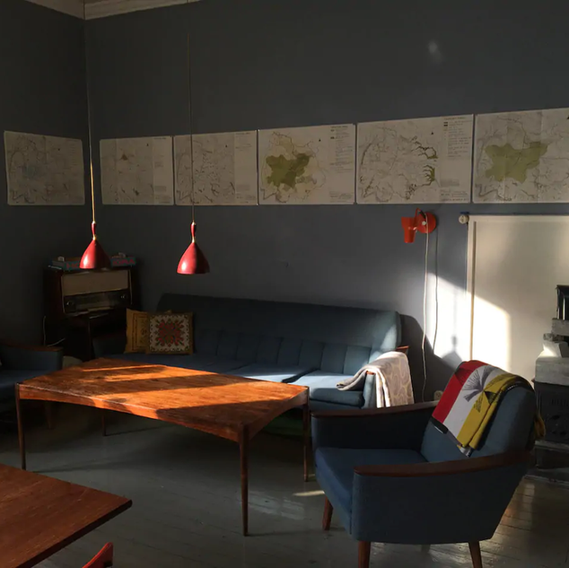 Villa Gryta interior by Martin Andersen