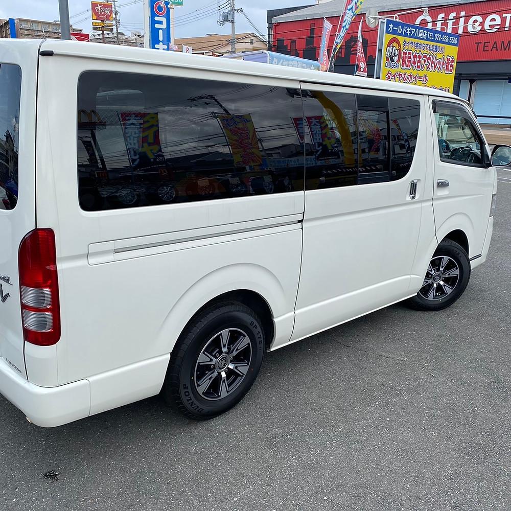トヨタ ハイエース KITジャパン ベアロックDD TOYOTA コーセイ 15インチ 6J レジアスエース 箱車