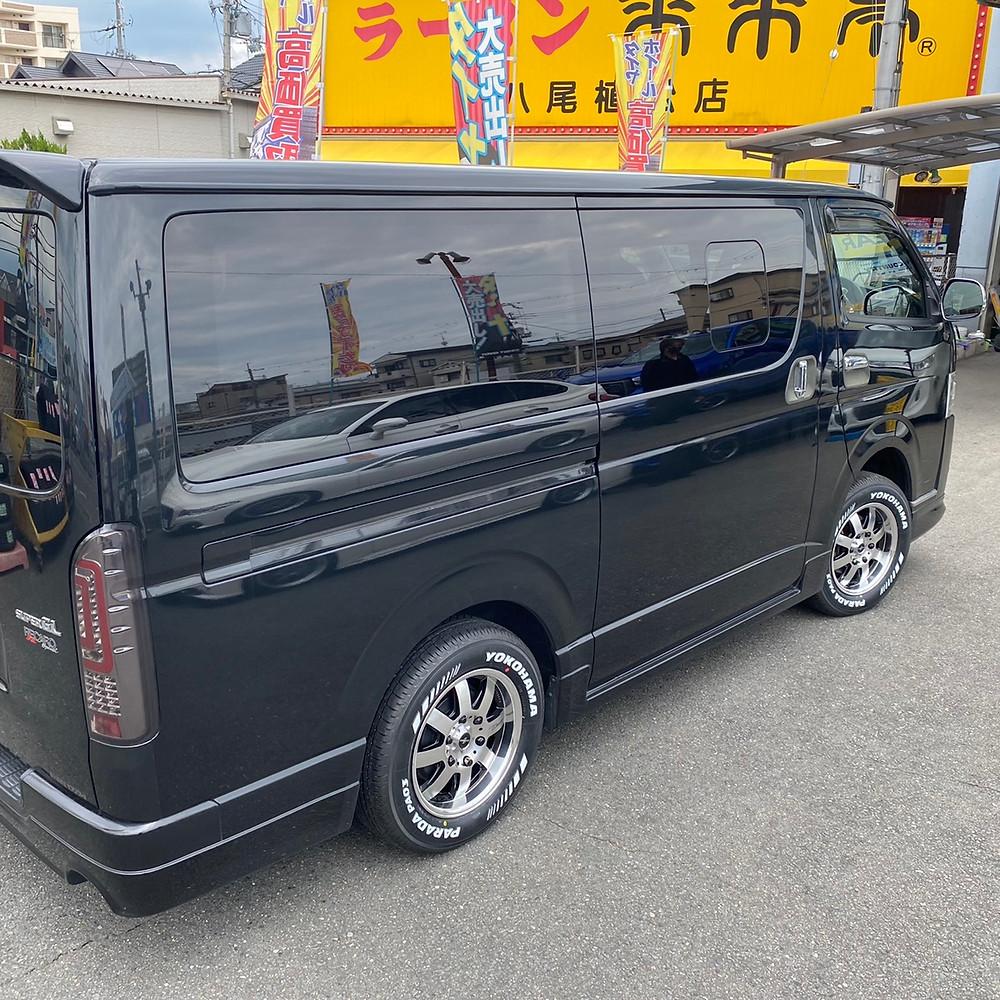 トヨタ ハイエース ファブレス パンデミック lm-8 16インチ 6.5J ヨコハマ パラダ p03