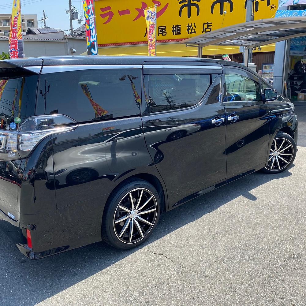 トヨタ 30 ヴェルファイア 共豊コーポレーション シュタイナー SF-V 20インチ 8.5J アルファード