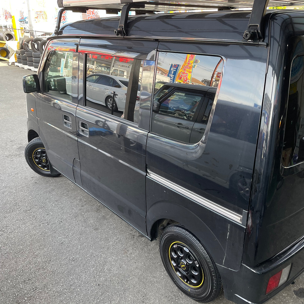 スズキ エブリィバン 共豊コーポレーション PPX mil8 ミルエイト 12インチ 3.5J SUZUKI エブリィ スクラム スクラムバン 箱車