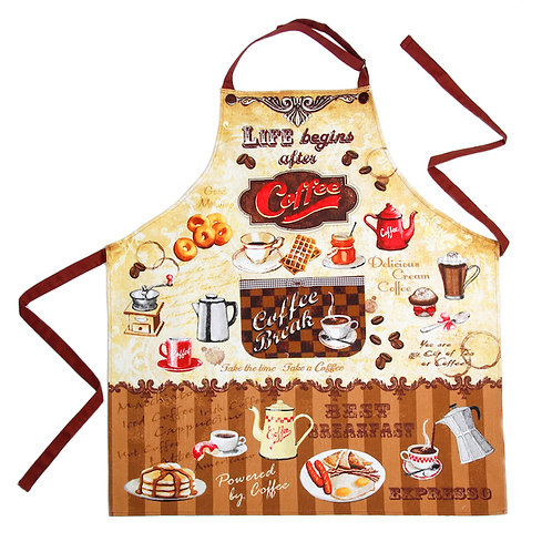 APRON - COFFEE