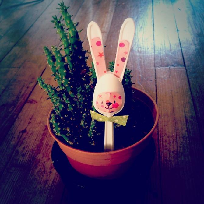 Last Minute Easter Decor Idea