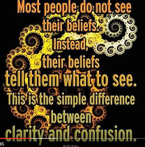 Most people do not see their beliefs