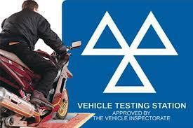 Motorcycle MOT test