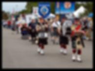 Scottish clan parade