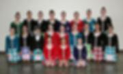 Highland Dancers lined up