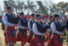 Scottish pipeband
