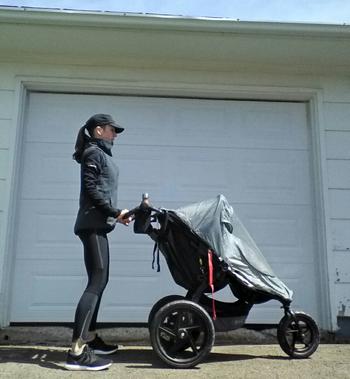Stroller workout season is here